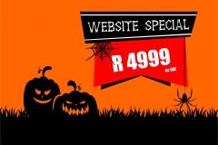 Prio Halloween Frenzy Ad